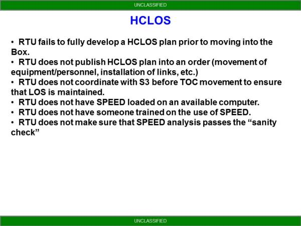 NETOPS Trends From NTC - HCLOS