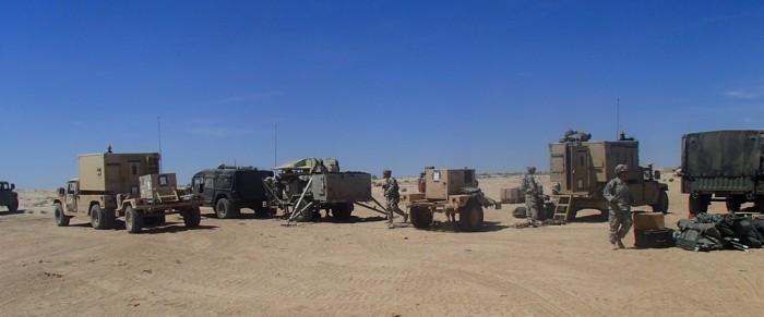 Unit Setups the Brigade Main