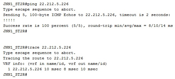 SIPR CPN Trace With HCLOS