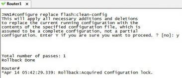 Configure Replace