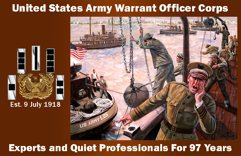 Warrant Officer 97 Years of Service