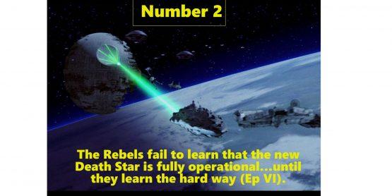 Star Wars #2 Intel Failure