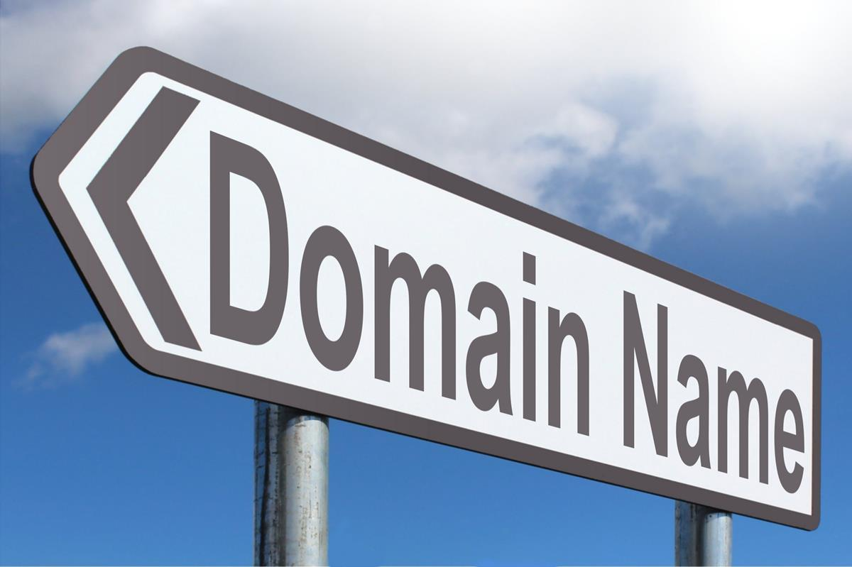 """Sign that says """"Domain Name"""""""